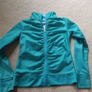 Champion brand girls zip up jacket size 10/12